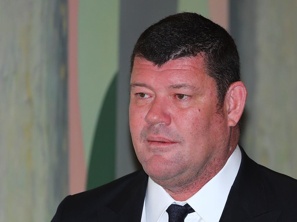 James Packer's London casino has been accused of tolerating racism. Picture: Getty Images