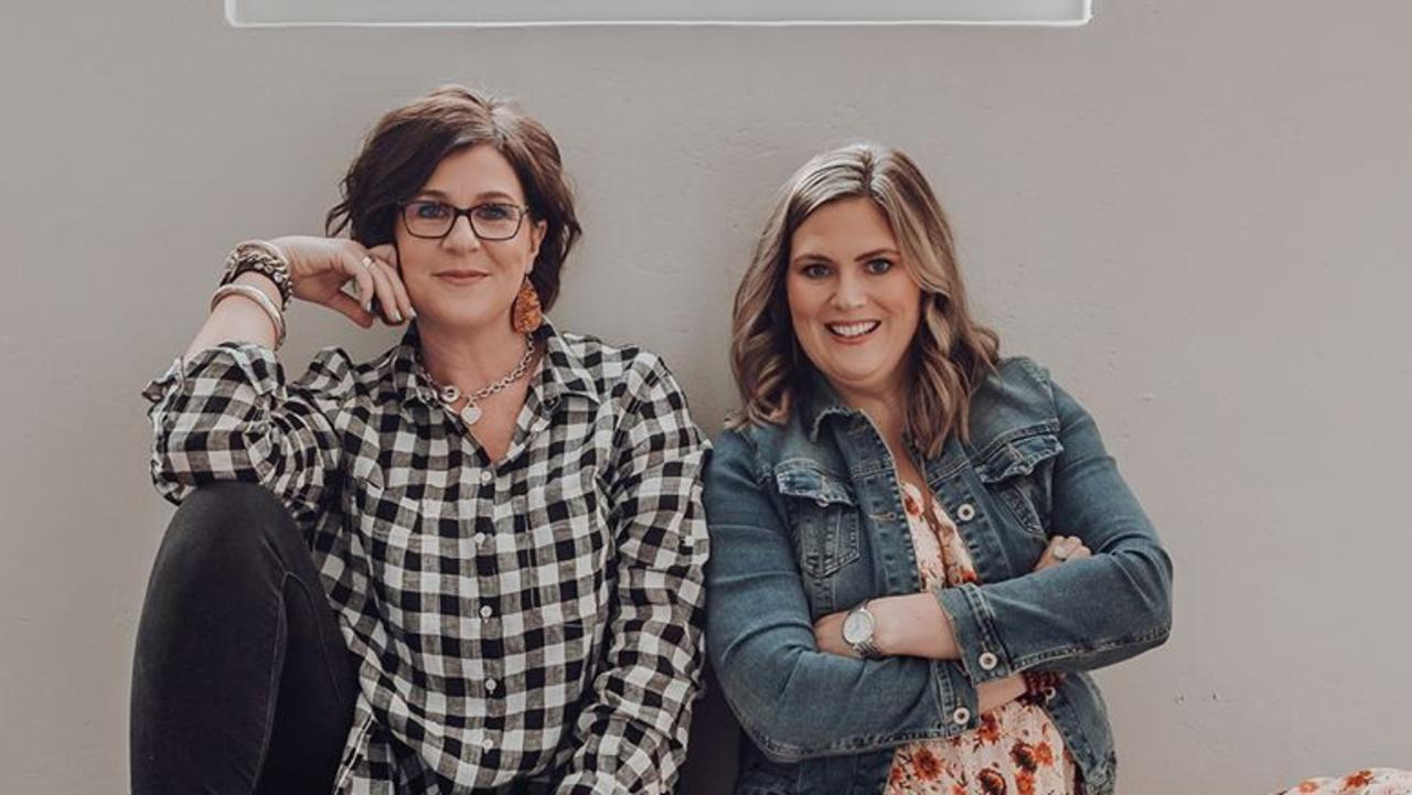 "BETTER TOGETHER: Southern Downs businesswomen Amy Walker and Jaimie McMillan have joined together to develop ""Creating Stories"". Picture: Naomi Mullins/ DNM Photography"