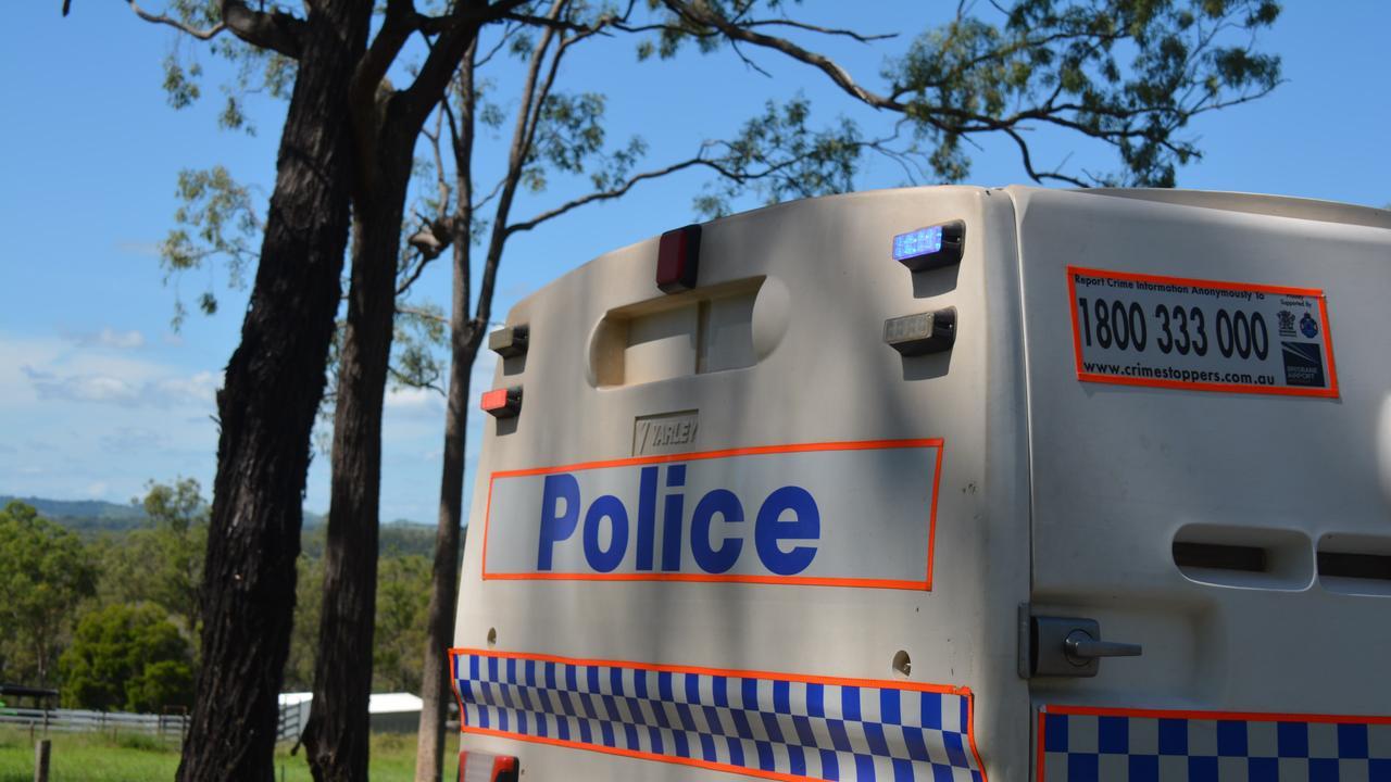 Queensland Police car.