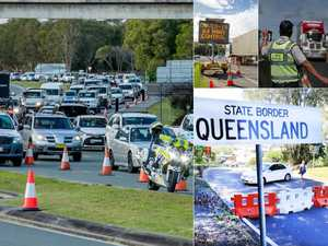 Heavy traffic as Queensland reopens to interstate travellers