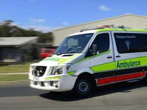 Cyclist suffers head injury in car crash on busy stretch