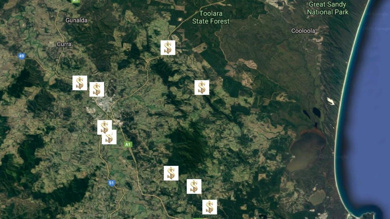 The southern entrance to Gympie has emerged as the region's property gold mine.