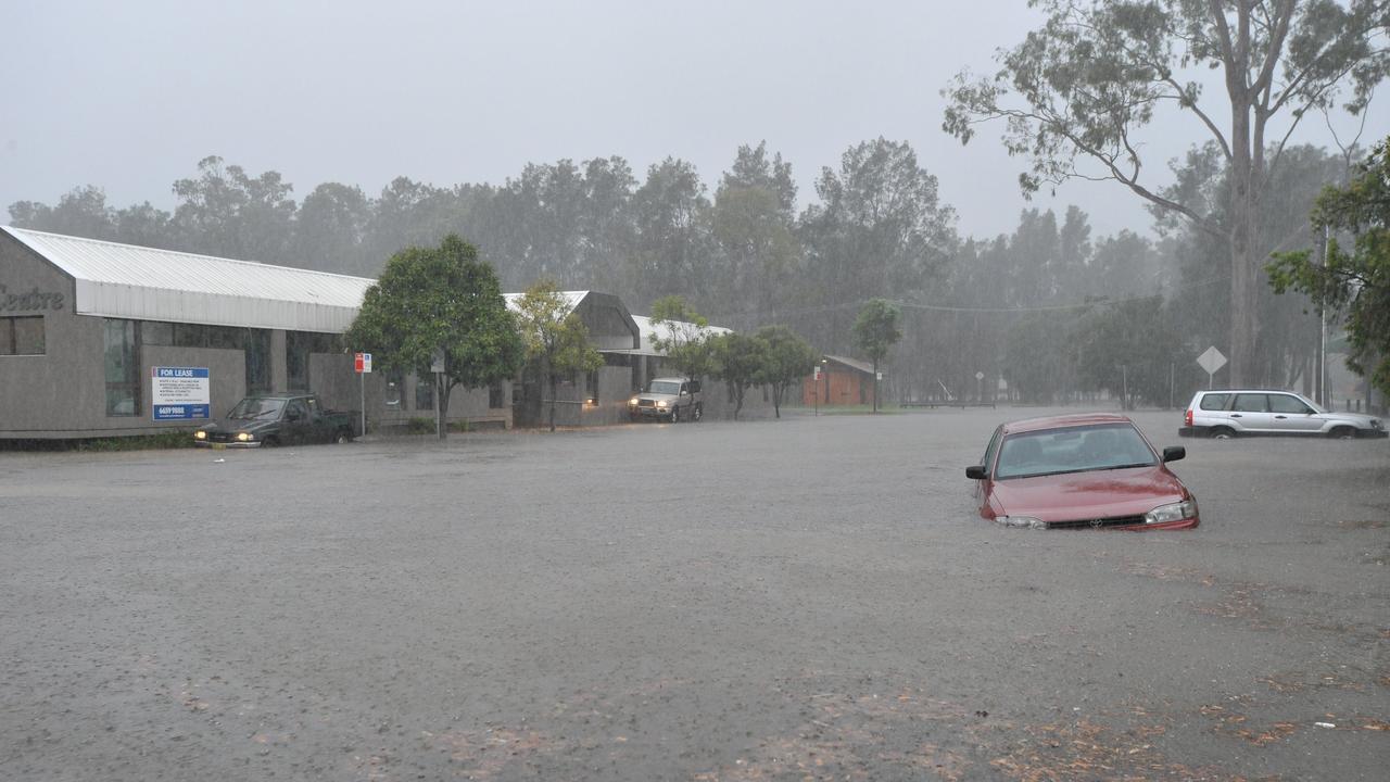 Floods in Coffs Harbour, 2009.