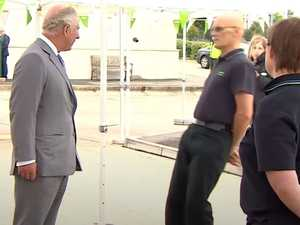 Man faints while meeting Prince Charles