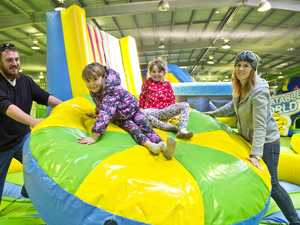 Inflatable playland bounces back after pandemic