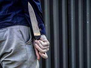Woman stabbed in harrowing backyard attack