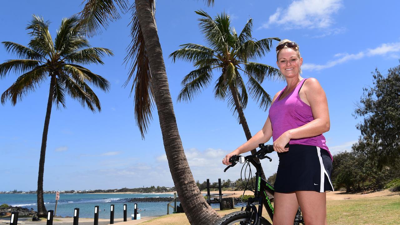 Kristi Nash is launching coastal bike tours along the Bargara and Mon Repos foreshore.