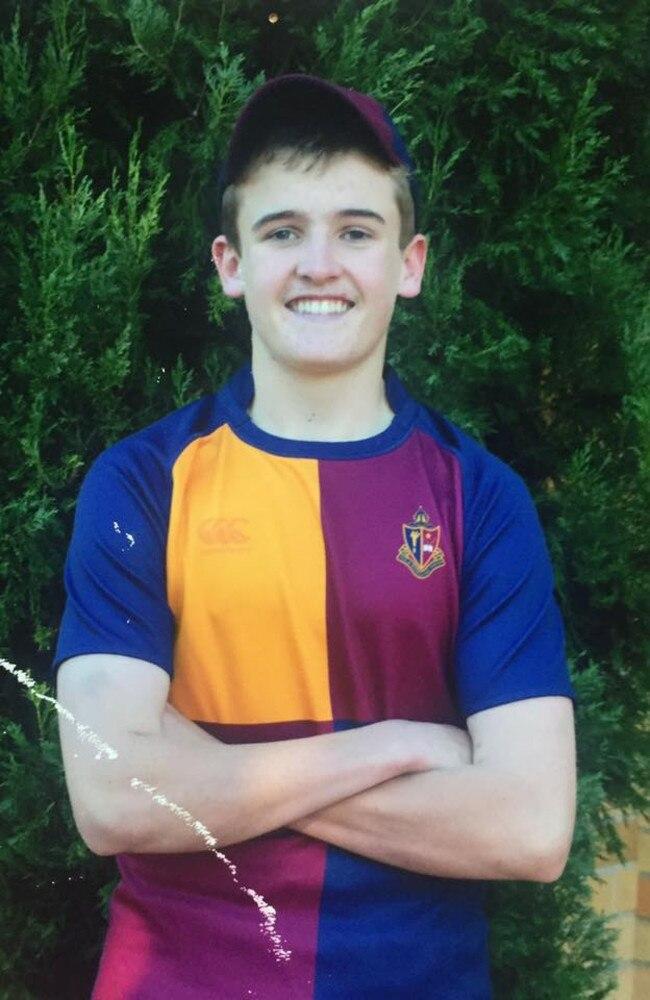 Patrick Finn Wallace, 18.