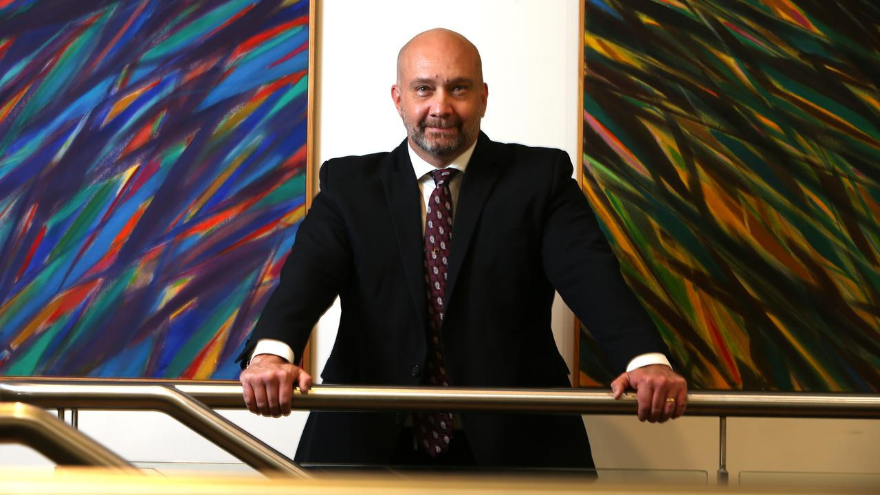 POWER PROBLEM: Shine Energy Chief Executive Ashley Dodd is reportedly clashing with the Federal Government after they reduced the amount of money for a feasibility study into a new coal-fired power station in Collinsville. Photo: Lyndon Mechielsen/The Australian