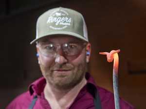 Blacksmith Ryan Carnie