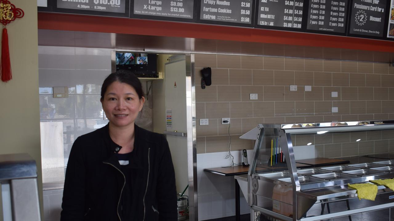 Tannum Buffet Chinese Cuisine owner May Wu.