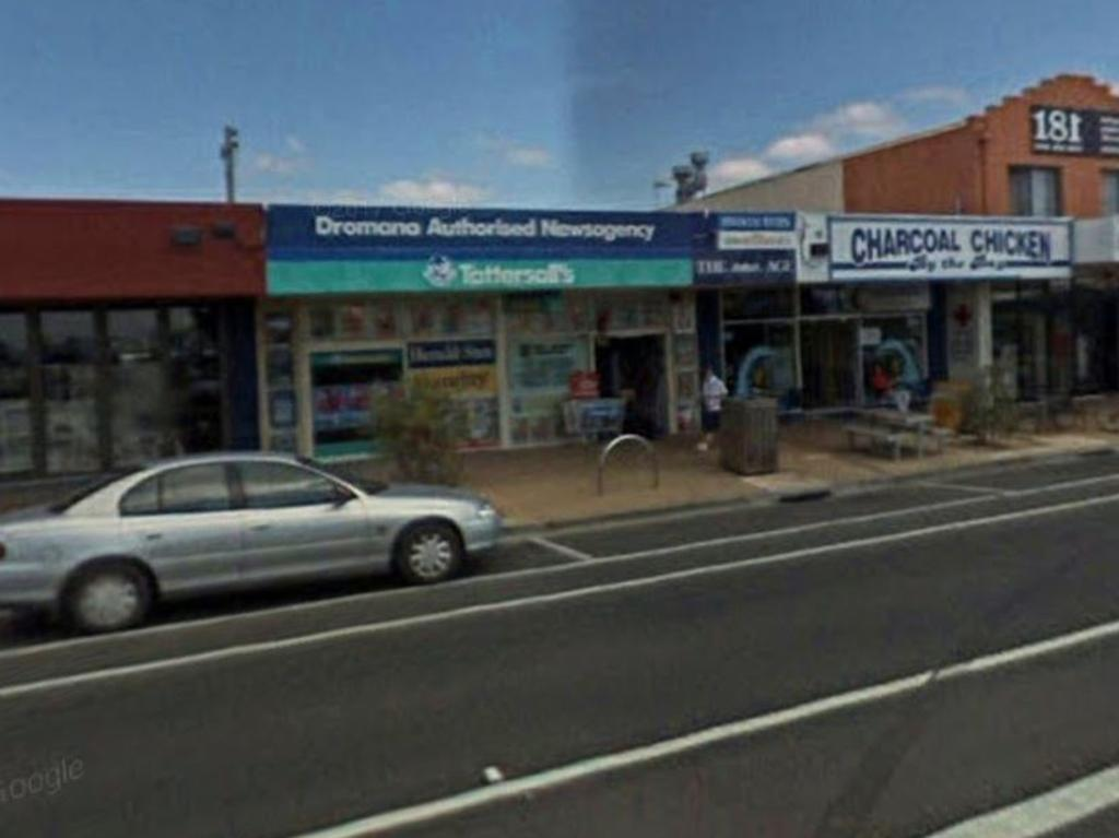The winning ticket was sold from Dromana Authorised Newsagency. Picture: Google Earth