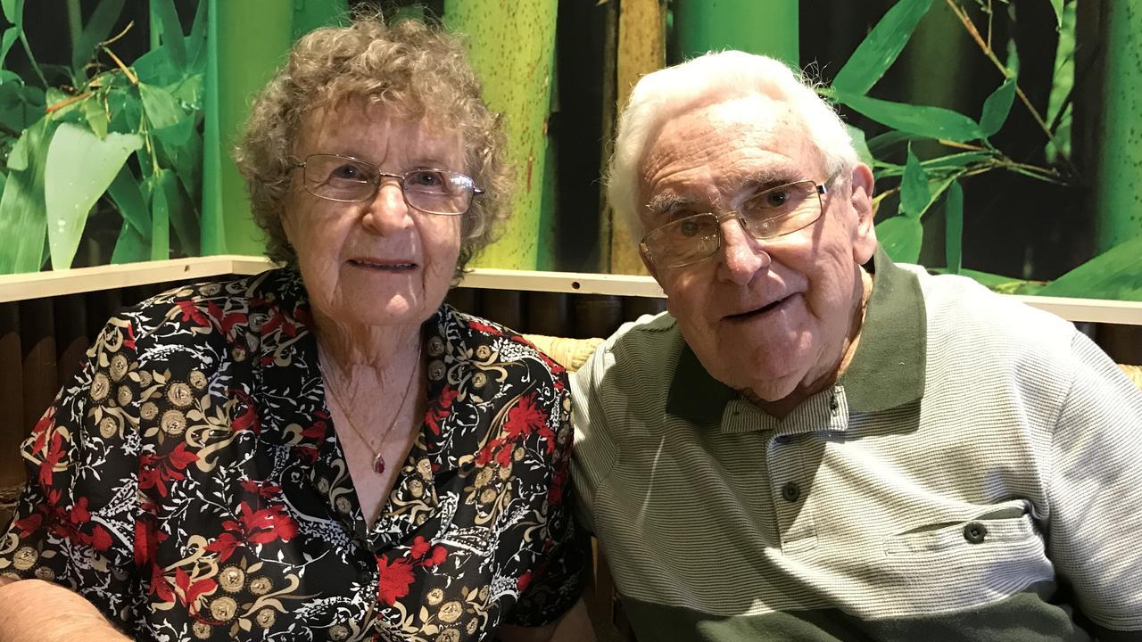 LIFELONG LOVE: Bargara residents Jan and John Fender are celebrating 60 years of marriage.