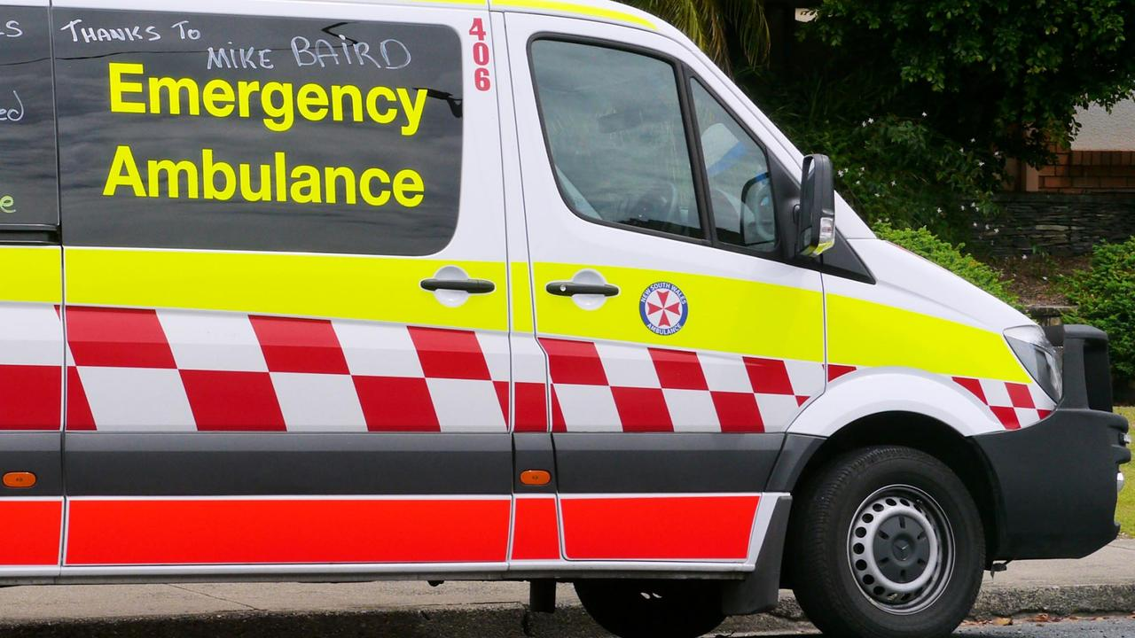 A 39-year-old male was transported to Coffs Harbour Hospital on Saturday morning, July 11, after colliding with a tree on Bark Hut Rd near Woolgoolga.