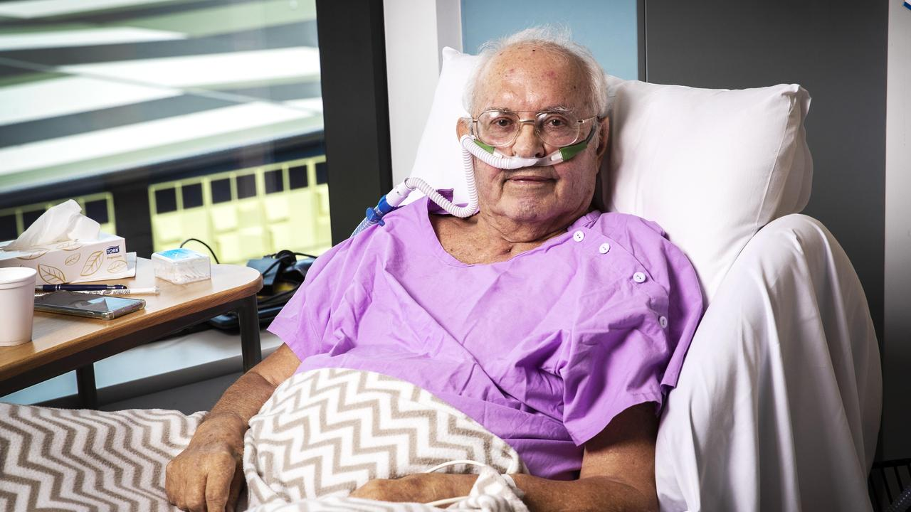 Queensland's last remaining coronavirus hospital patient is out of intensive care. Picture: Nigel Hallett
