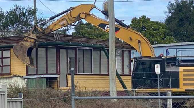 Why this house was torn to the ground