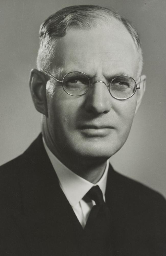 Former prime minister John Curtain.