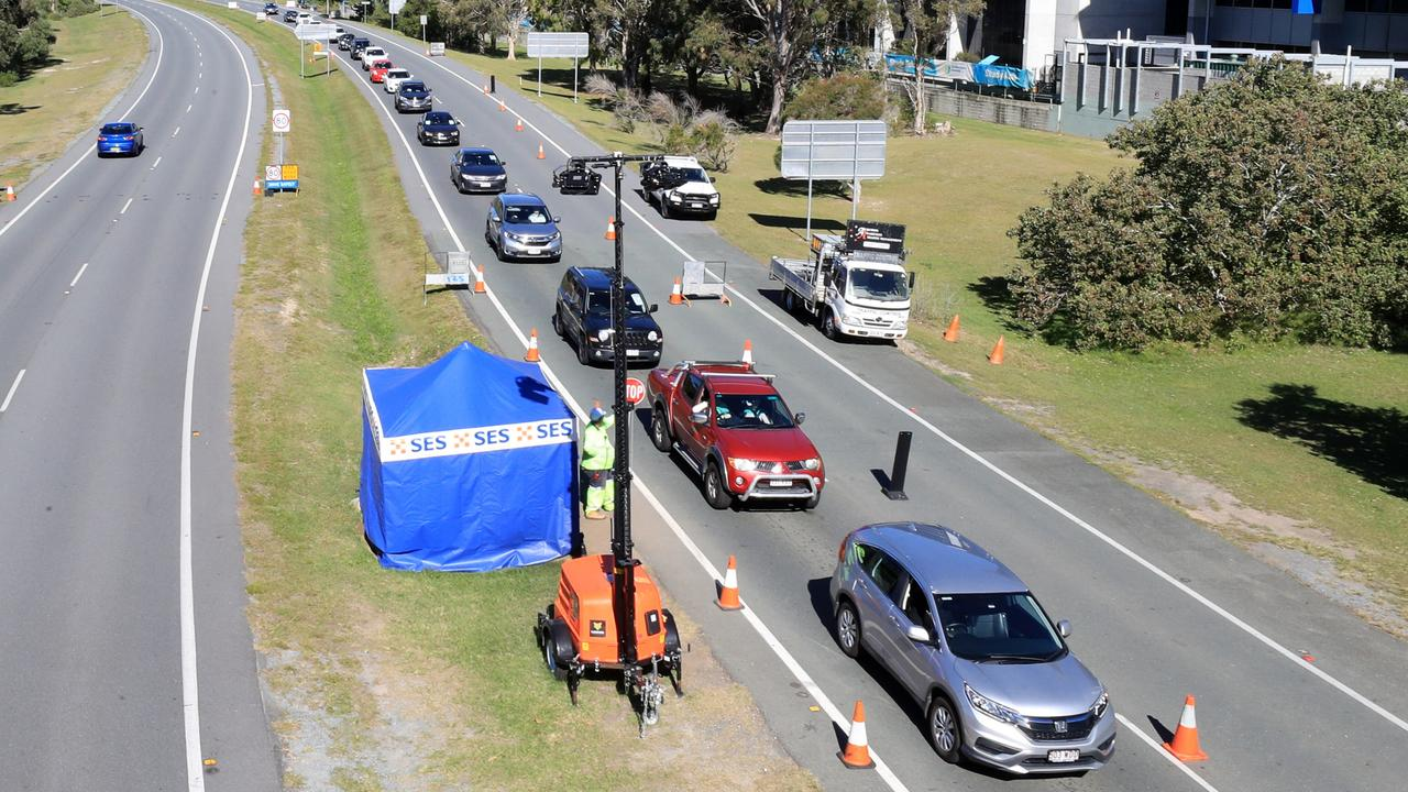 Travellers are facing long lines at the border. Photo: Scott Powick Newscorp