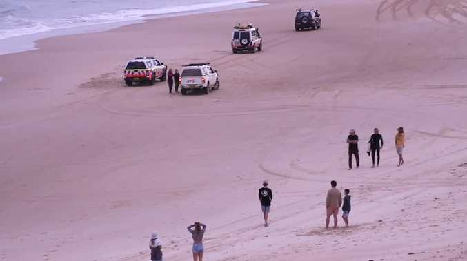 SHARK TRAGEDY: Quiet coastal town rocked by teen's death