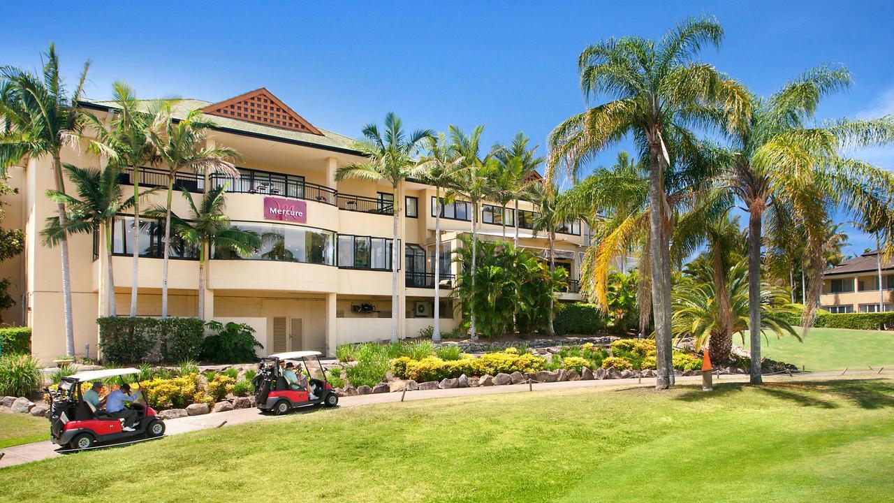Mercure Gold Coast Resort, tempat para pemain Carlton, Melbourne Utara, dan Bulldog Barat tinggal. Gambar: Disediakan