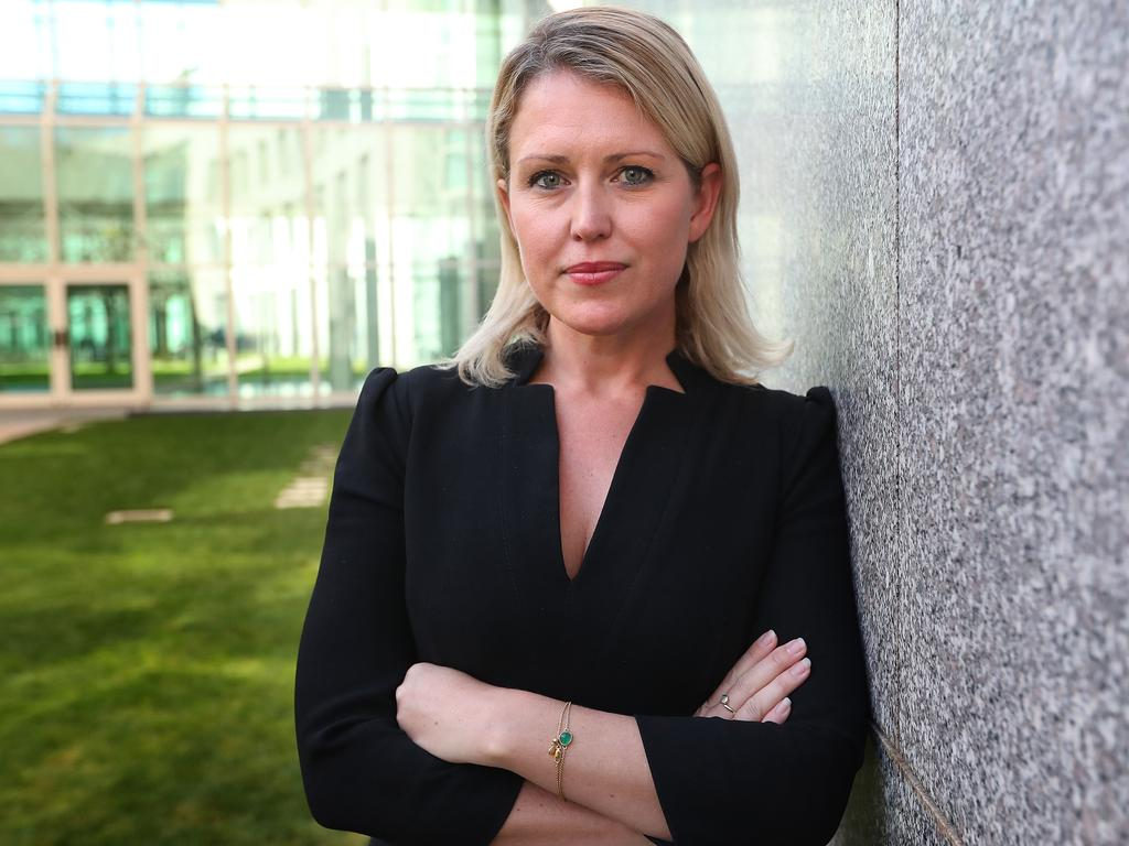 Australian lawyer Jennifer Robinson, at Parliament House in Canberra. Picture: Kym Smith