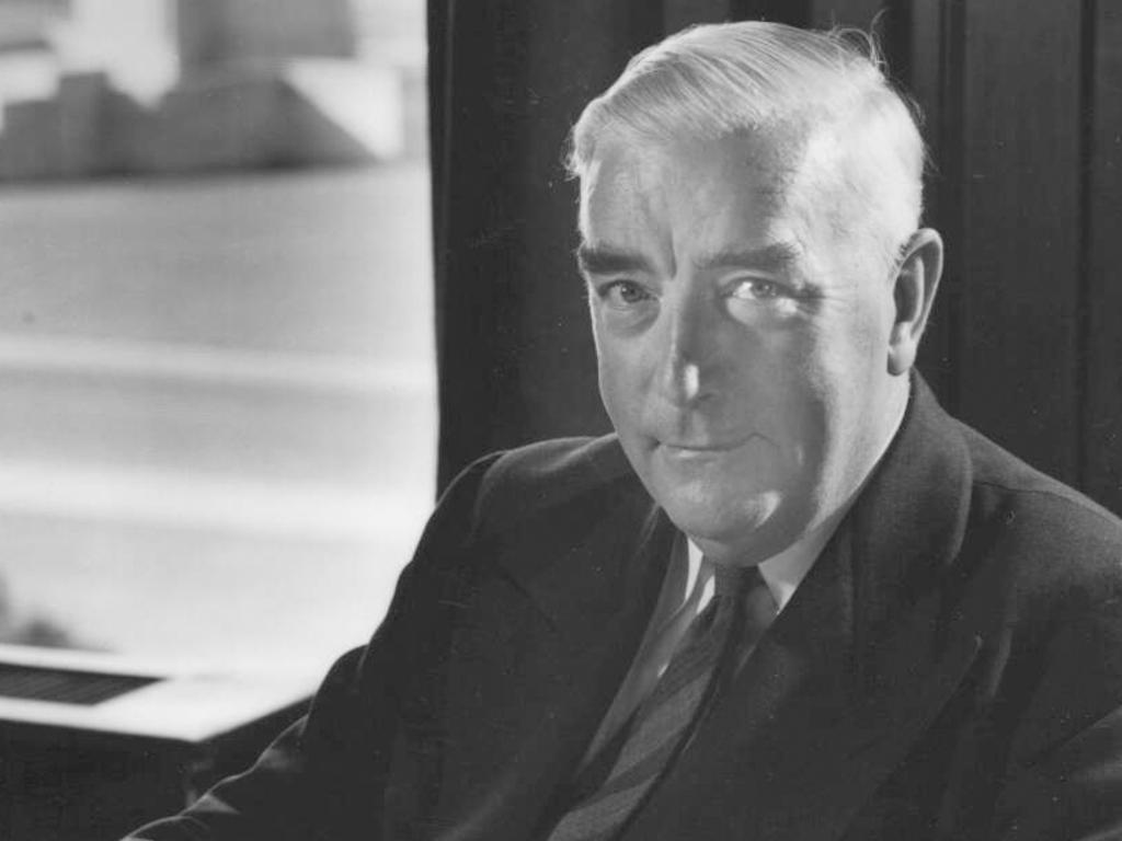 Sir Robert Menzies in 1950. Picture: National Library of Australia