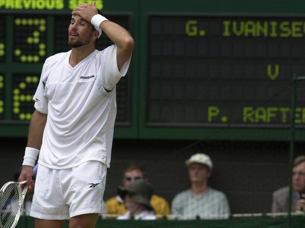 Rafter wanted to win Wimbledon more than any other tournament.