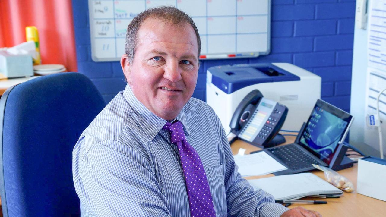 Brett Martell, who held various roles at Aldridge State High School in Maryborough including as an agricultural teacher, died on Tuesday afternoon.