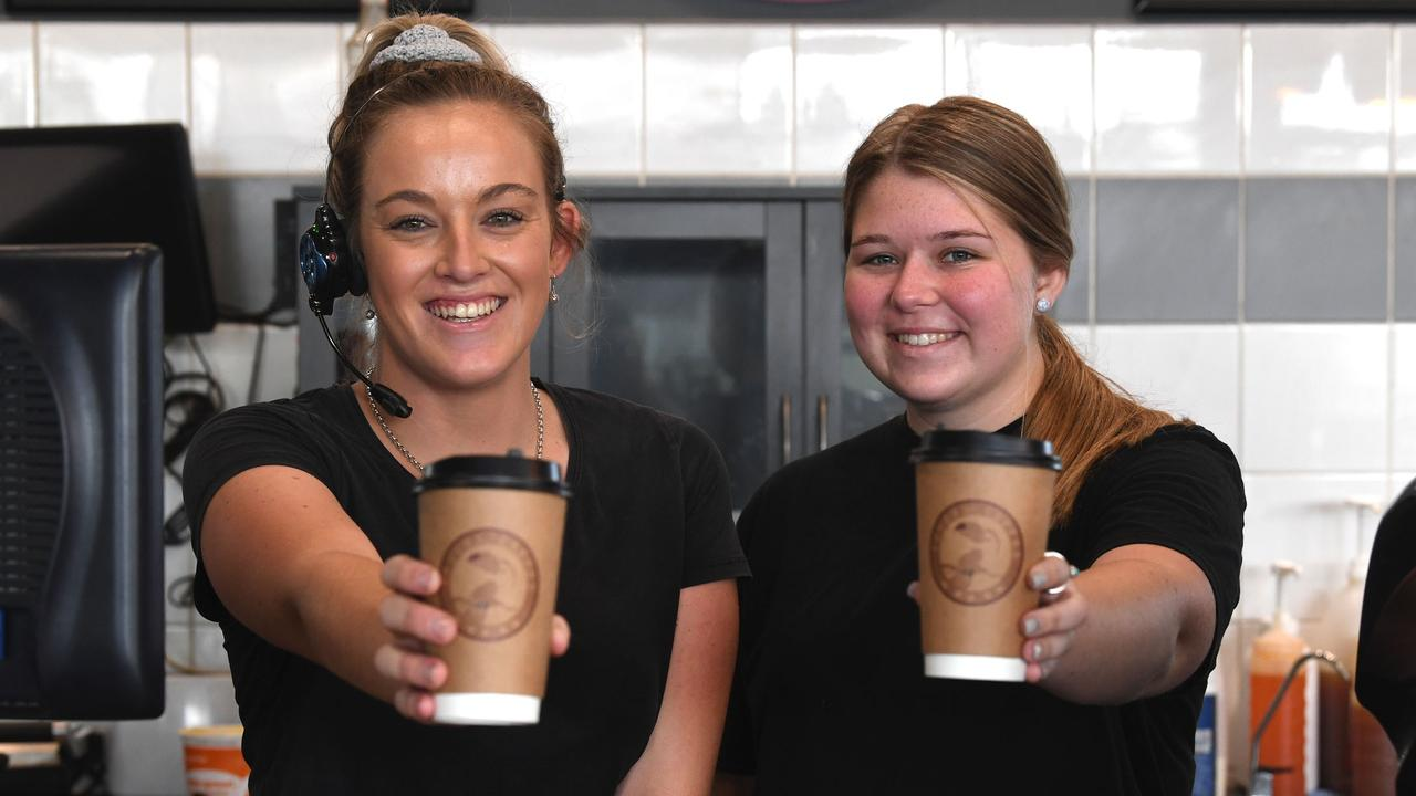 Jaida Walker and Makayla Kickbusch of Toucan Coffee