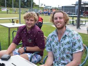 SUNDAY SESH: Adam and Liam Staples from Blacks Beach.