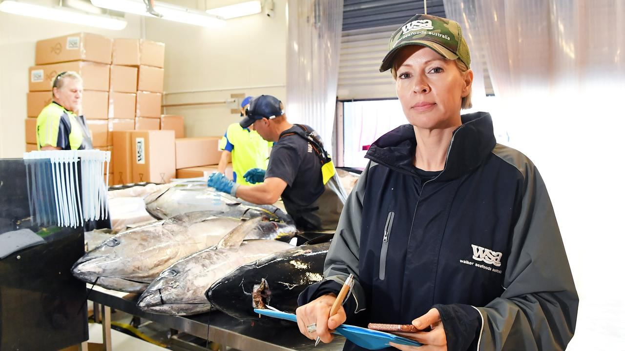Heidi Walker managing director, owner, of Walker Seafoods.