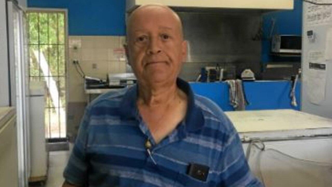 SAD FAREWELL: Jacques Guillard at his shop in Blacks Beach.
