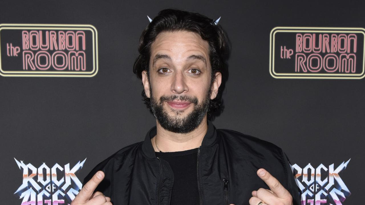 Broadway actor Nick Cordero died from COVID-19 complications a mammoth 95 day battle. Picture: Vivien Killilea/Getty Images for Rock of Ages Hollywood