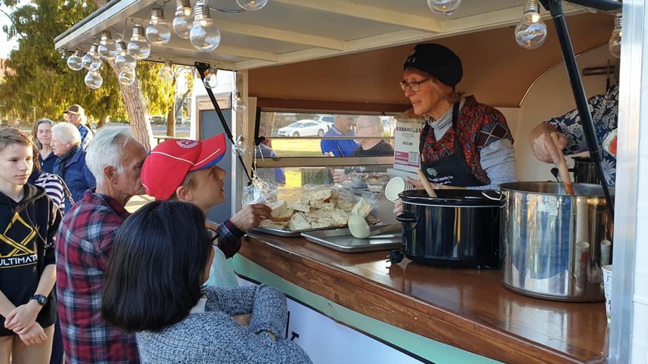 Over $5000 helped keep the Warwick Community Van secure.