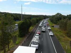 Traffic backed-up on major Coast roads