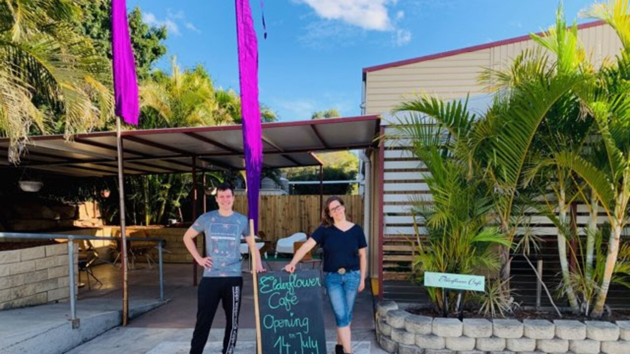 Kerstin Harms and Maximilian Westermayer are opening Elderflower Cafe on July 14.