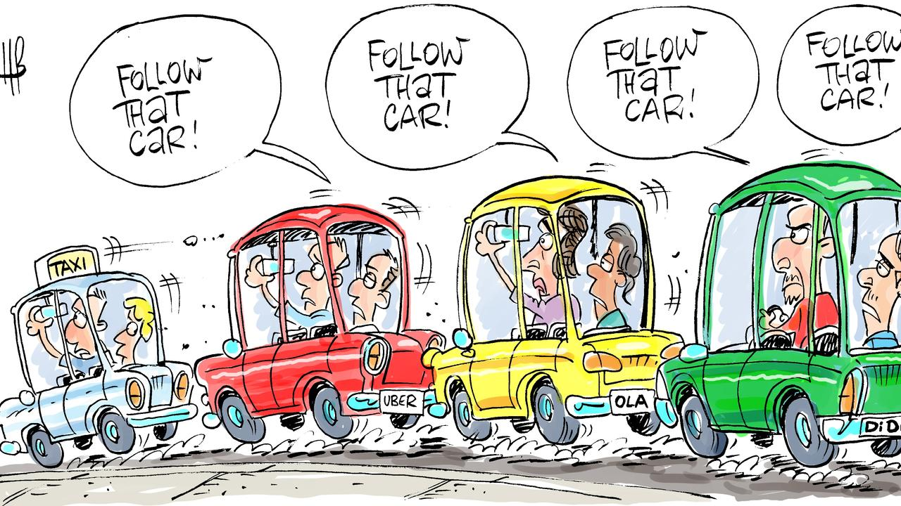 Harry Bruce's cartoon