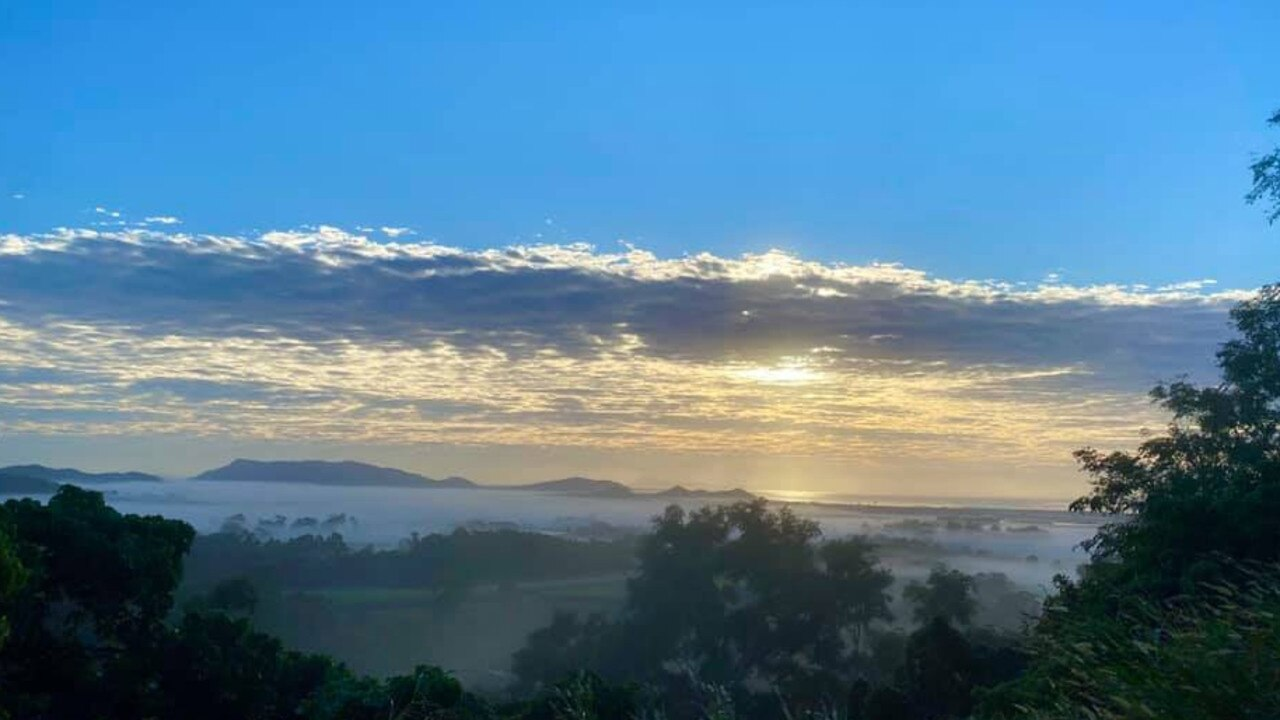A foggy morning near Mt Jukes captured by Shannon Clare. Picture: Facebook
