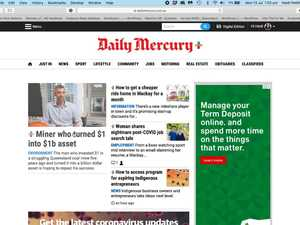 WATCH: How to read local news on the Daily Mercury website