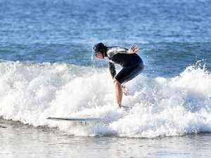 Wave of the day at Alexandra Headland. Photo Patrick
