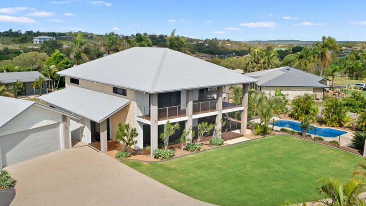 FLASH HOUSE: Prime Agents is selling this stunning six-bedroom home on Waterview Dr, Dundowran Beach, with an asking price of $1.175 million.