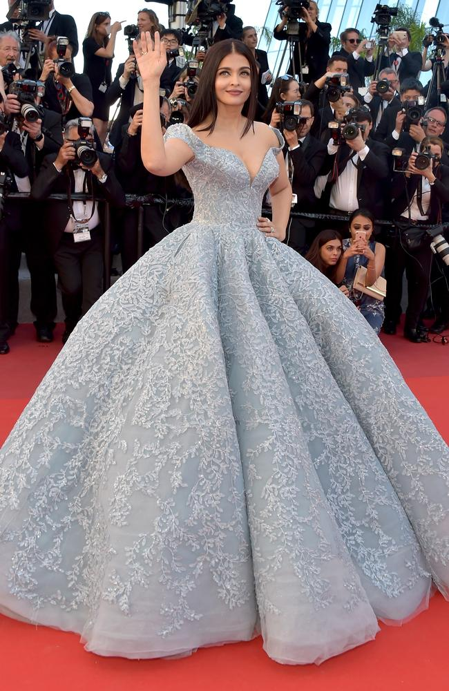 Aishwarya Rai Bachchan has tested positive for coronavirus. Picture: Pascal Le Segretain/Getty Images.