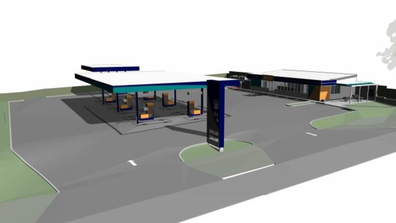 Service station proposed by Pacific Fuels. 133 – 137 North Street, Harlaxton.