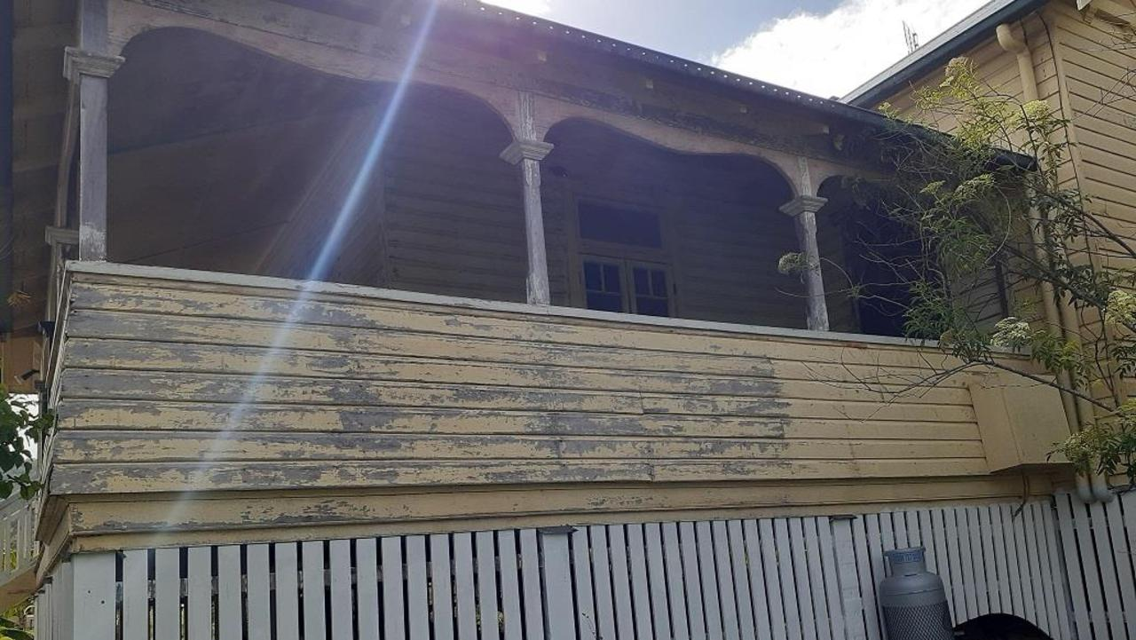 Before – A property in Dum Dum that received a grant from Council's Local Heritage Assistance Fund in 2019.