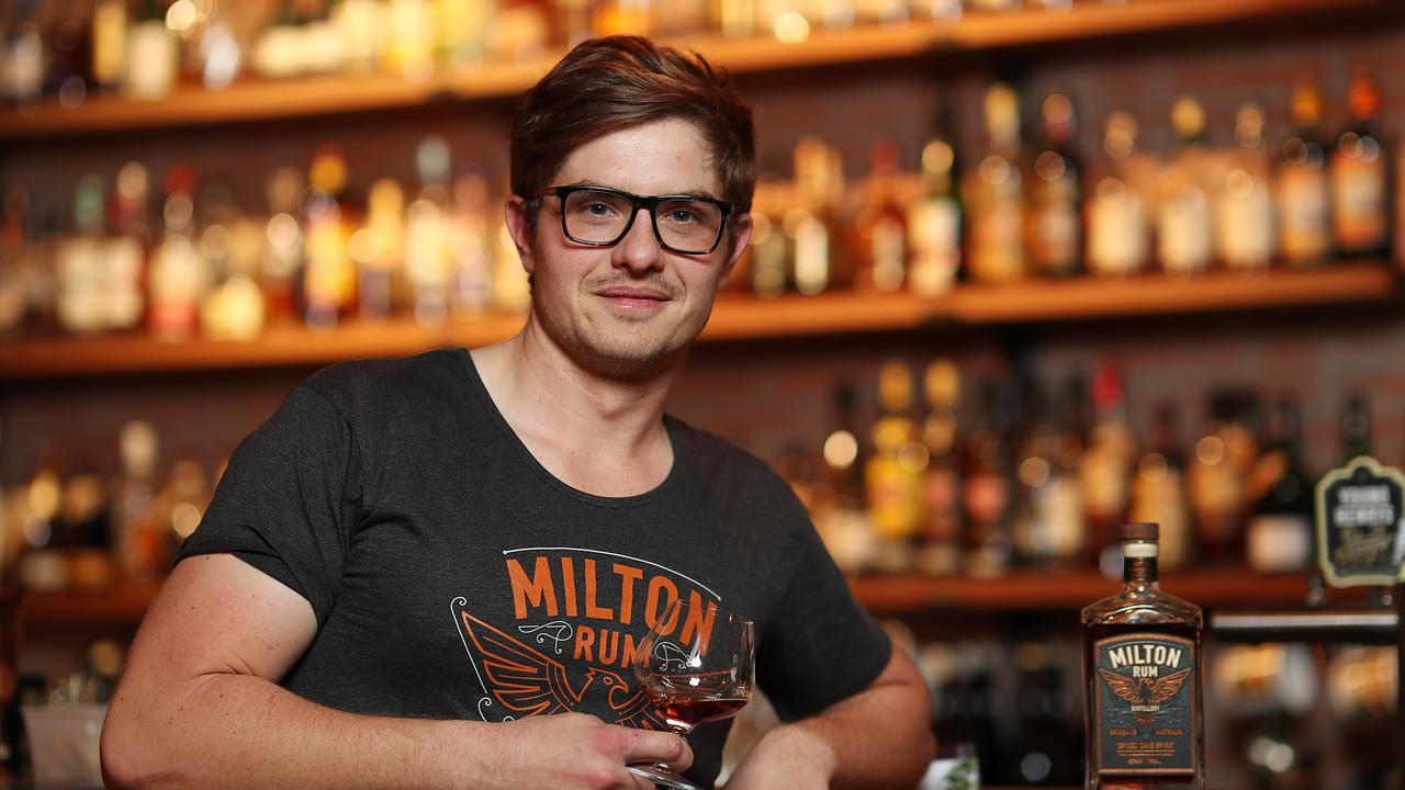 Milton Rum owner Alex Bell. Picture: Peter Wallis