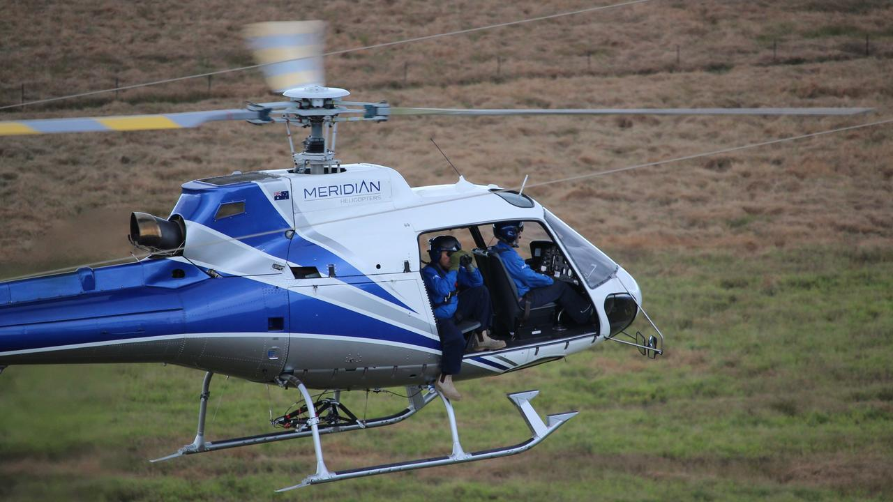 Powerlink Queensland will use helicopters to inspect the electricity network over the coming months.