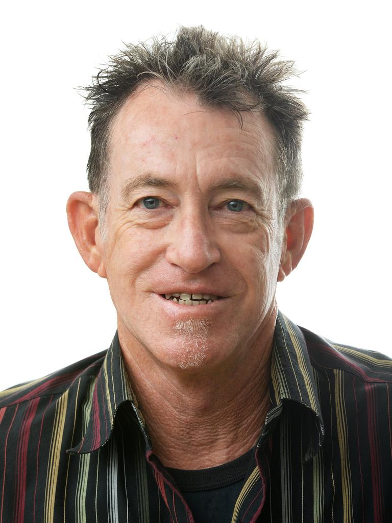 The Queensland Times journalist Ross Irby.