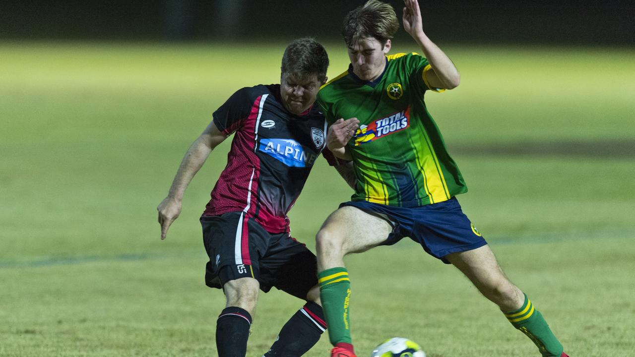 UNDERDOGS WIN: Stanthorpe United have defied the odds claiming their first victory in the TFL's premier division against Highfields on Saturday night. . Picture: Kevin Farmer
