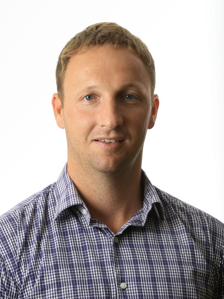 The Queensland Times editor Andrew Korner.