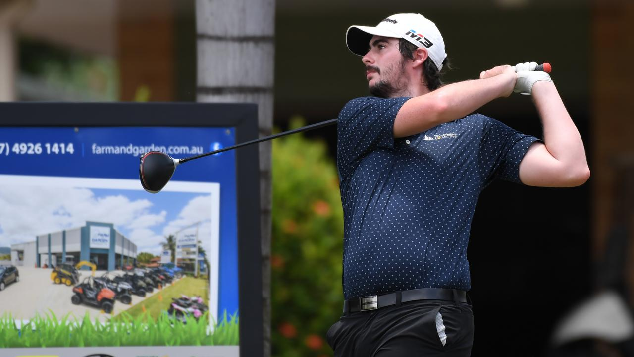 Tim McMaster will tee off for Rockhampton in the final of the Keppel Zone men's pennants on Sunday. Picture: File.